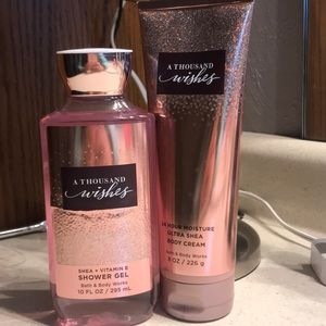 A Thousand Wishes Shower Gel and Body Cream